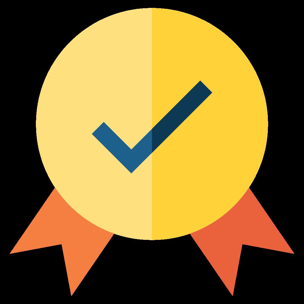 correct badge